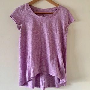"""Xhilaration"" Light Purple, Short Sleeve Top"